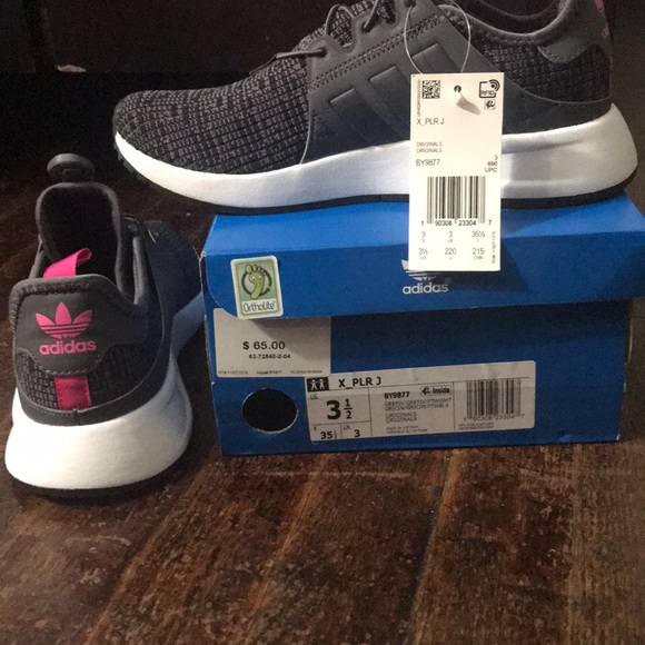 ADIDAS Boys Lace Running Shoes